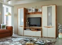 Набор мебели «Монэ» Фасад Молочный  комп 1