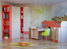 Набор мебели «Рико» ЛДСП Коралл комплектация 16