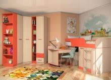 Набор мебели «Рико» ЛДСП Коралл комплектация 3