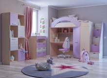 Набор мебели «Рико» ЛДСП Ирис/Модерн компл 20
