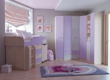 Набор мебели «Рико» ЛДСП Ирис/Модерн компл 21